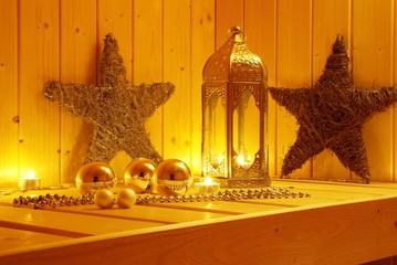 Sauna im Advent