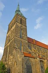 Hildesheim: gotische St. Andreaskirche (1389, Niedersachsen)