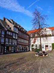Historischer Platz in Goslar
