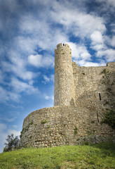 the city wall of Obidos - Portugal