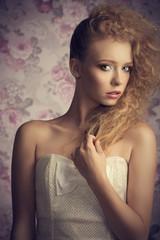girl with creative elegant style