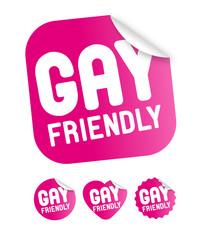 """Etiquette """"Gay friendly"""""""