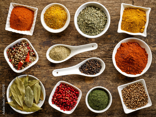 various kinds of spices - 72513341