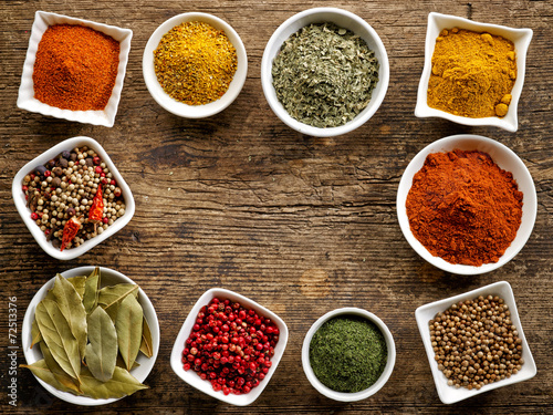 various kinds of spices - 72513376