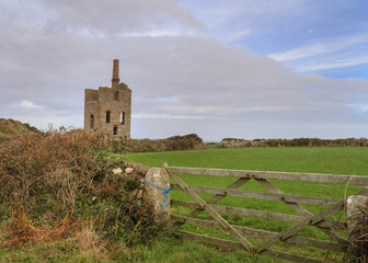 Levant tin Mine in cornwall