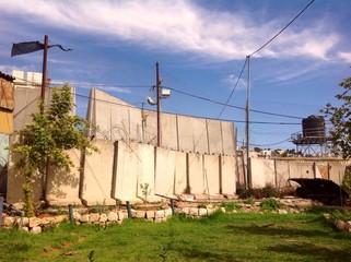 wall in Hebron