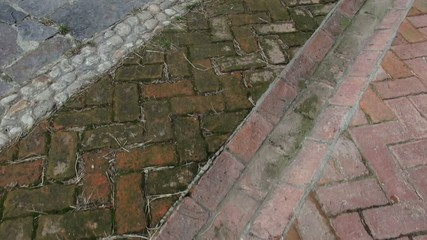 Path, Pathway, Brick, Ground, Walking