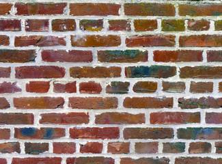 House brick wall