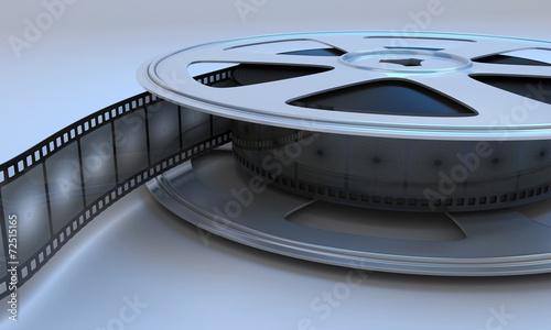 Fotobehang Retro Retro reel film movie.