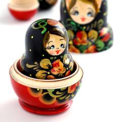 Matryoshkas russian nesting dolls