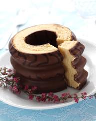 """German layer cake """"Baumkuchen"""""""
