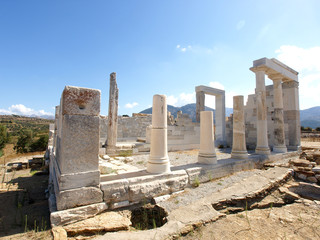Temple of Demeter, Naxos, Greece