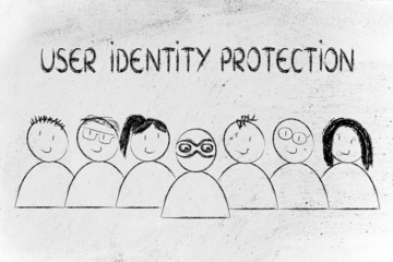 identity protection on the web and anonymous users