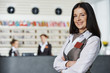 Hotel manager on reception - 72517363
