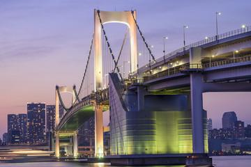 Tokyo, Japan at Rainbow Bridge