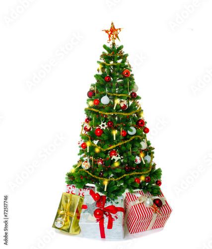 canvas print picture weihnachtsbaum