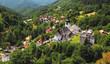 Country in Slovakia - Village Spania Dolina