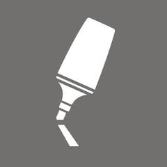 Icono rotulador fluorescente FO