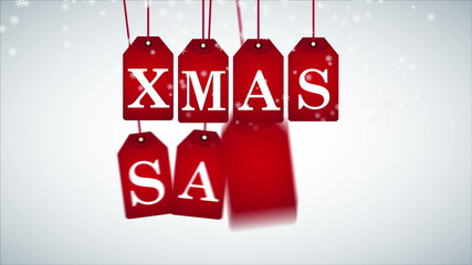 Christmas Sale, Animation, HD 1080