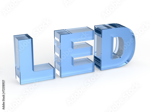 LED technology sign - 72518937