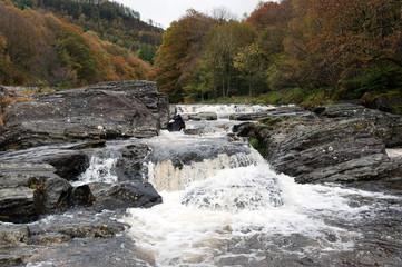 Waterfall near Devis Bridge Wales