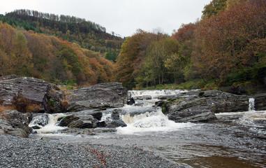 Waterfall near Devils Bridge Wales