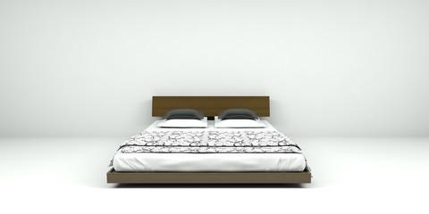 Bett, Möbel, Einrichtung, Schlafen