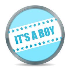 "button ""it's a boy"" I"