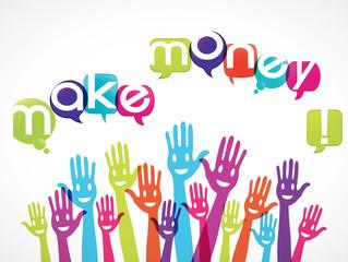 groupe mains : make money !