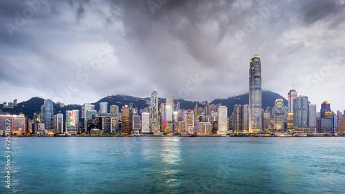 Papiers peints Hong-Kong Hong Kong, China City Skyline