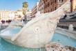 Fontana della Barcaccia ,Piazza di Spagna, Rome, Italy - 72521172