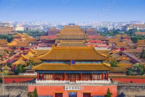 Fotobehang Beijing Beijing China Forbidden City
