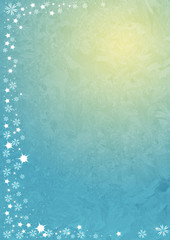 Stylized background for greeting with New Year and Christmas