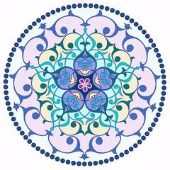 Renkli göbek motif
