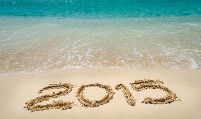 Año nuevo 2015 en la playa