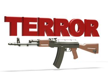 Illustrazione terrore