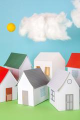 Papercraft House
