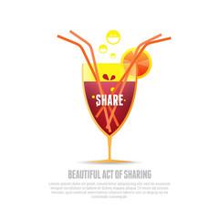 Sharing Drink
