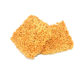 Noodles with white background