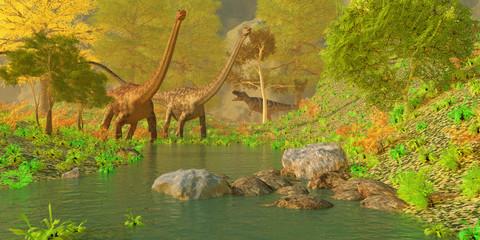 Deep Forest Dinosaurs