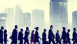 Business People Commuter Walking City Concepts - 72531735