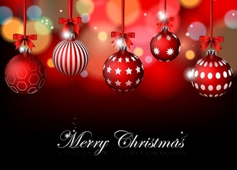 christmas background with for you design