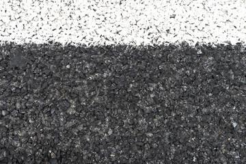 asphalt with gravel background