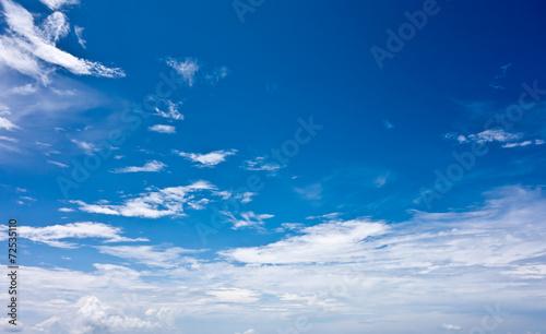 canvas print picture blue sky