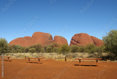 The Olgas in the Northern territory in Australia - 72535564