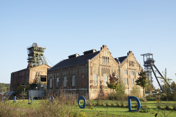 Maschinenhallen Zeche Radbod in Hamm, Deutschland
