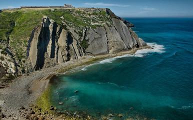 Espichel cape cliffs and Sanctuary