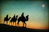 Three Kings Desert Star of Bethlehem Nativity - 72536938