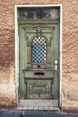 Old locked doors
