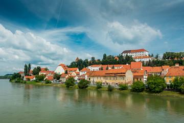 Ptuj panorama. Slovenia